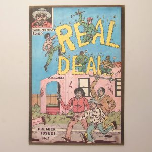 Real Deal Magazine #1 (signed)