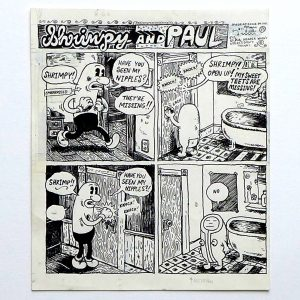 Comic art « Shrimpy and Paul » – Marc Bell