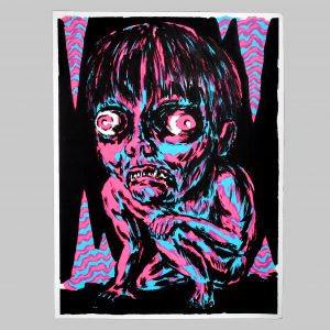 Screen print – Mat Brinkman
